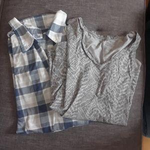 4/$15 Size 3X ladies short sleeve tops lot